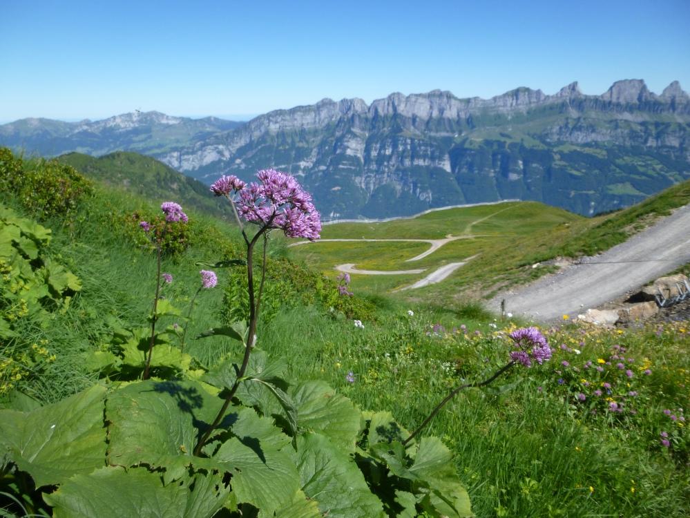 5-Seen Wanderung, Flumserberg, Switzerland.